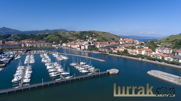 Aerial-View-Port-Zumaia-Basque-Country-Spain