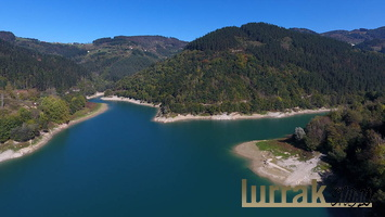 Aerial-Photo-Arriaran-Reservoir-Giupuzkoa-basque-Country