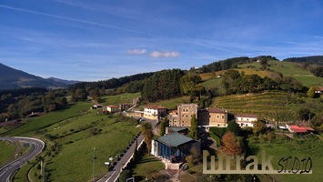 Aerial-View-Museum-Meeting-House-Basque-Country