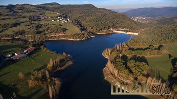 Aerial-View-Maroño-Reservoir-Basque-Country