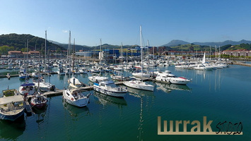 Aerial-View-Sailboats-Port-Zumaia-Gipuzkoa-Basque-Country