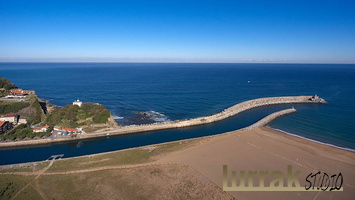 Aerial-View-Urola-River-Lighthouse-Cantabrian-Sea-Zumaia-Gipuzkoa-Basque-Country
