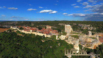 Aerial-View-Calatañazor-Spain